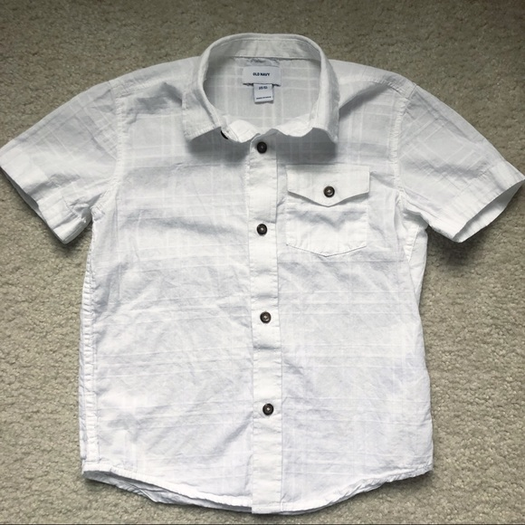 Old Navy Other - Old Navy White Button Down (boy's XS 5)